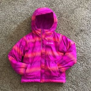 Columbia Girl's Pink Winter Puffer Coat